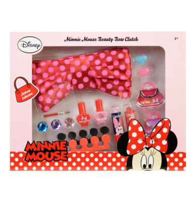 Markwins Minnie Mouse Styling Makeup Purse And Beauty Set